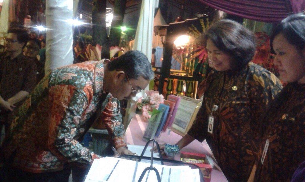 PMH UPPD Menteng di Festival Jalan Jaksa