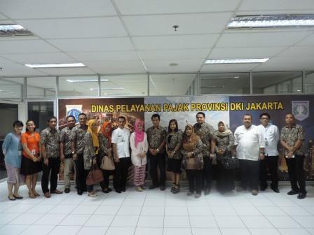 Kunjungan Kerja Dispenda Sulawesi Selatan