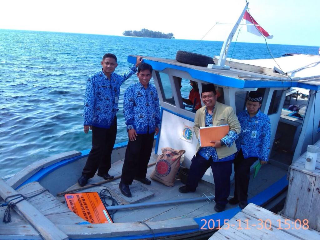 Perjuangan UPPD Pulau Seribu dalam memasang plang PBB