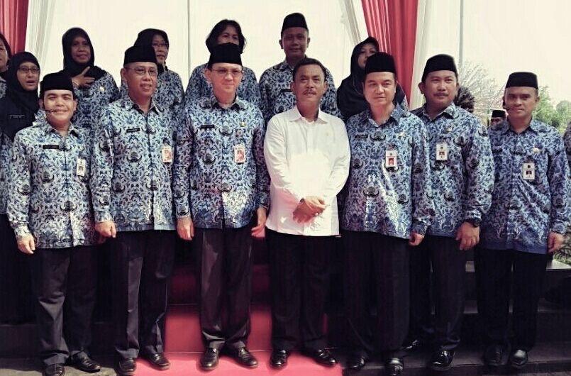 DPP Bertugas pada Upacara Hut Pahlawan 2015