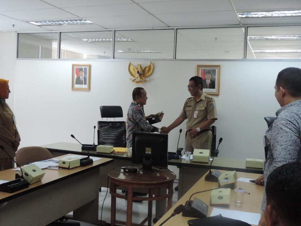 Kunjungan Kerja Dispenda Kota Makassar