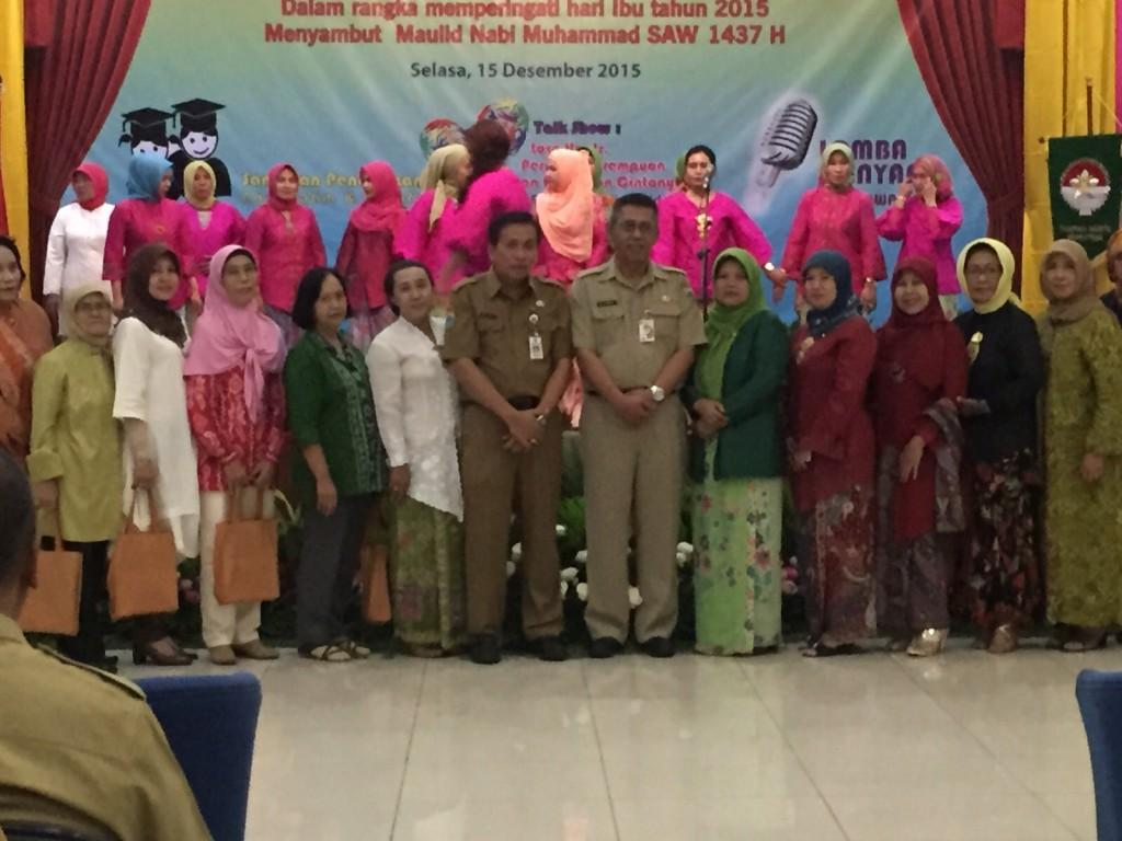 Peringatan Hari Ibu Dharma Wanita Persatuan DPP DKI