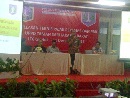 UPPD Tamansari Buka Gerai Pajak Terpadu Kedua di ITC Glodok