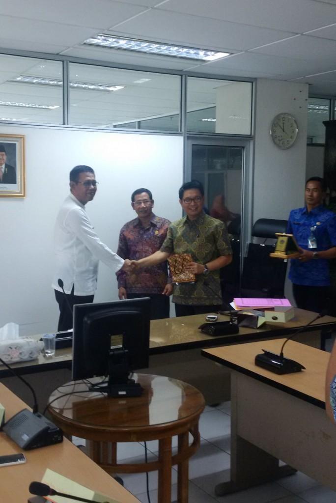 Kunjungan Kerja DPRD dan Dispenda Kabupaten Badung-Bali