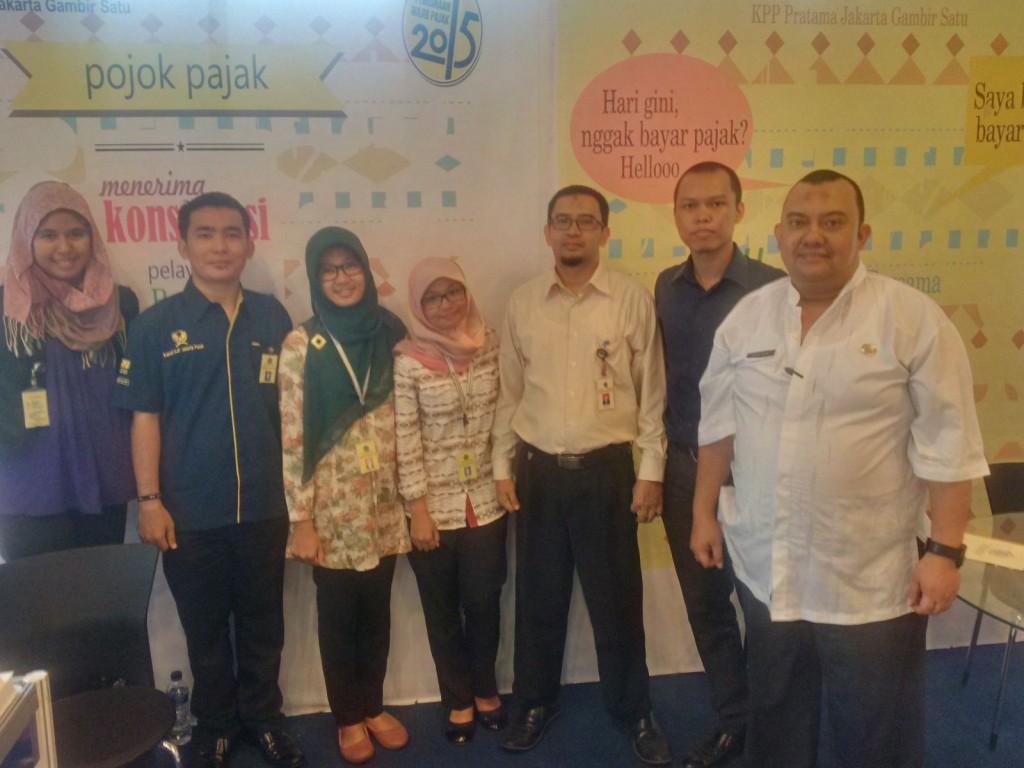 Pojok Pajak Pusat KPP Gambir Satu di Balaikota DKI Jakarta