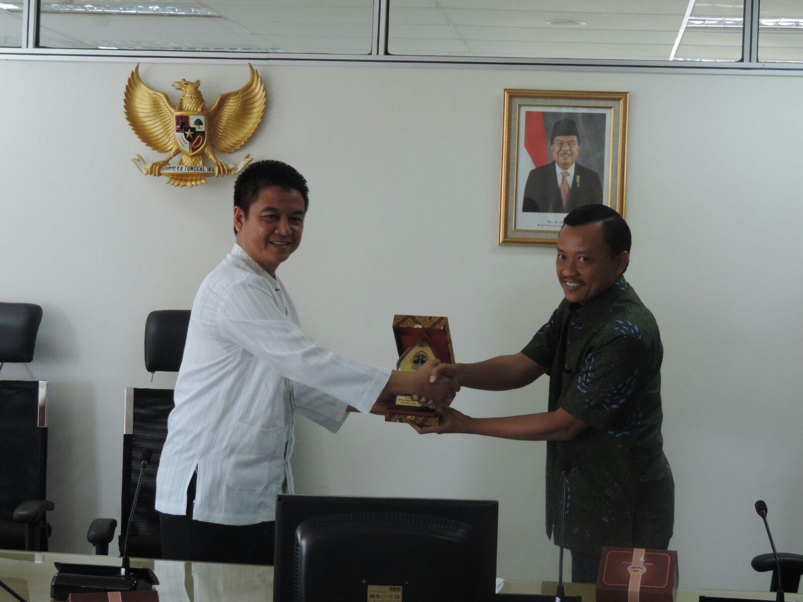 Kunjungan Kerja DPRD dan Dispenda Jawa Tengah
