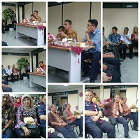Kunjungan Kadis dan Sekdis ke Sudin Pajak Jakarta Timur