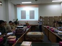 Pelatihan Alat POS di Sudin Jakarta Utara