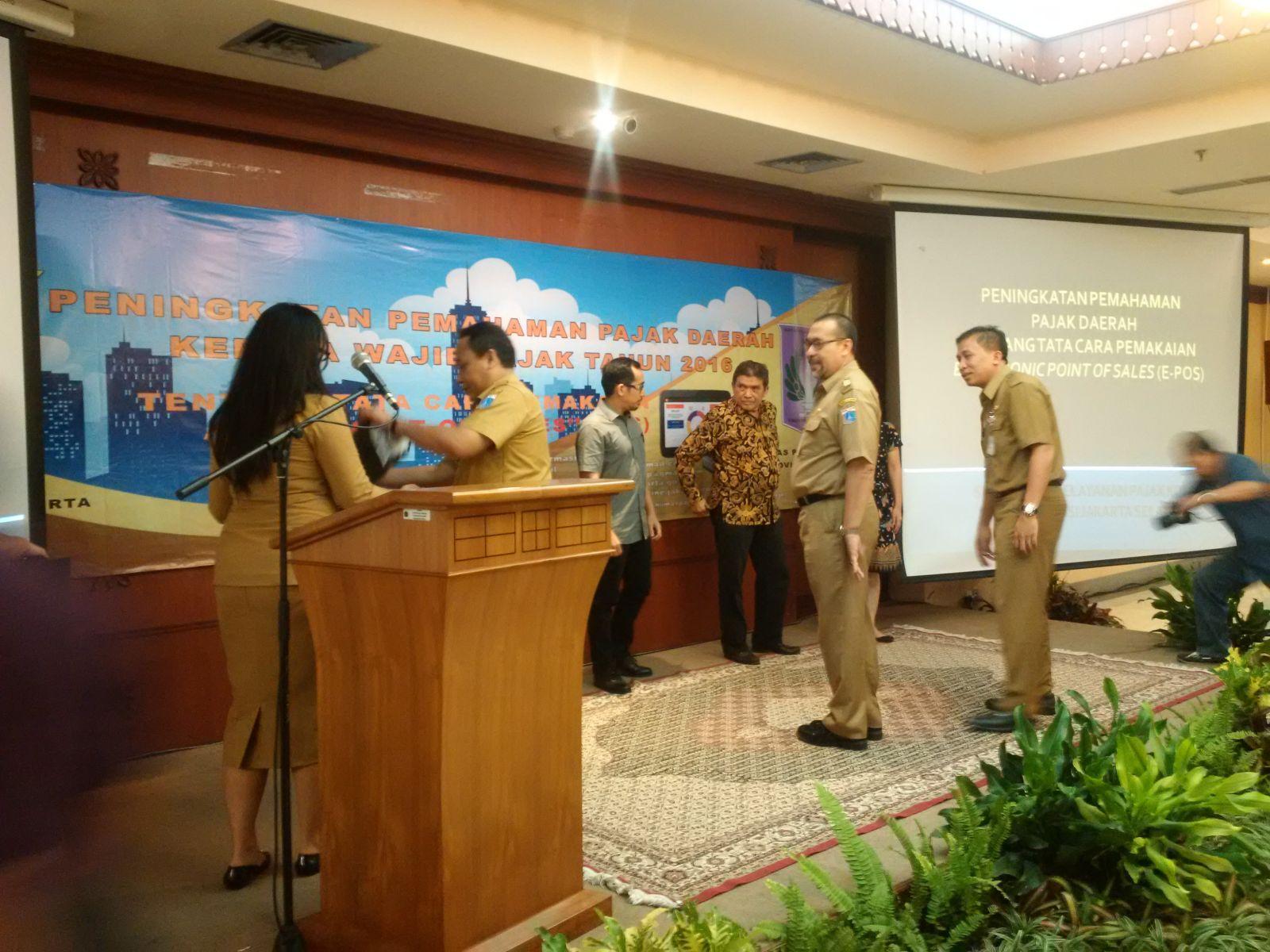 Penyampaian Alat E-Pos di Sudin Pajak Jakarta Selatan