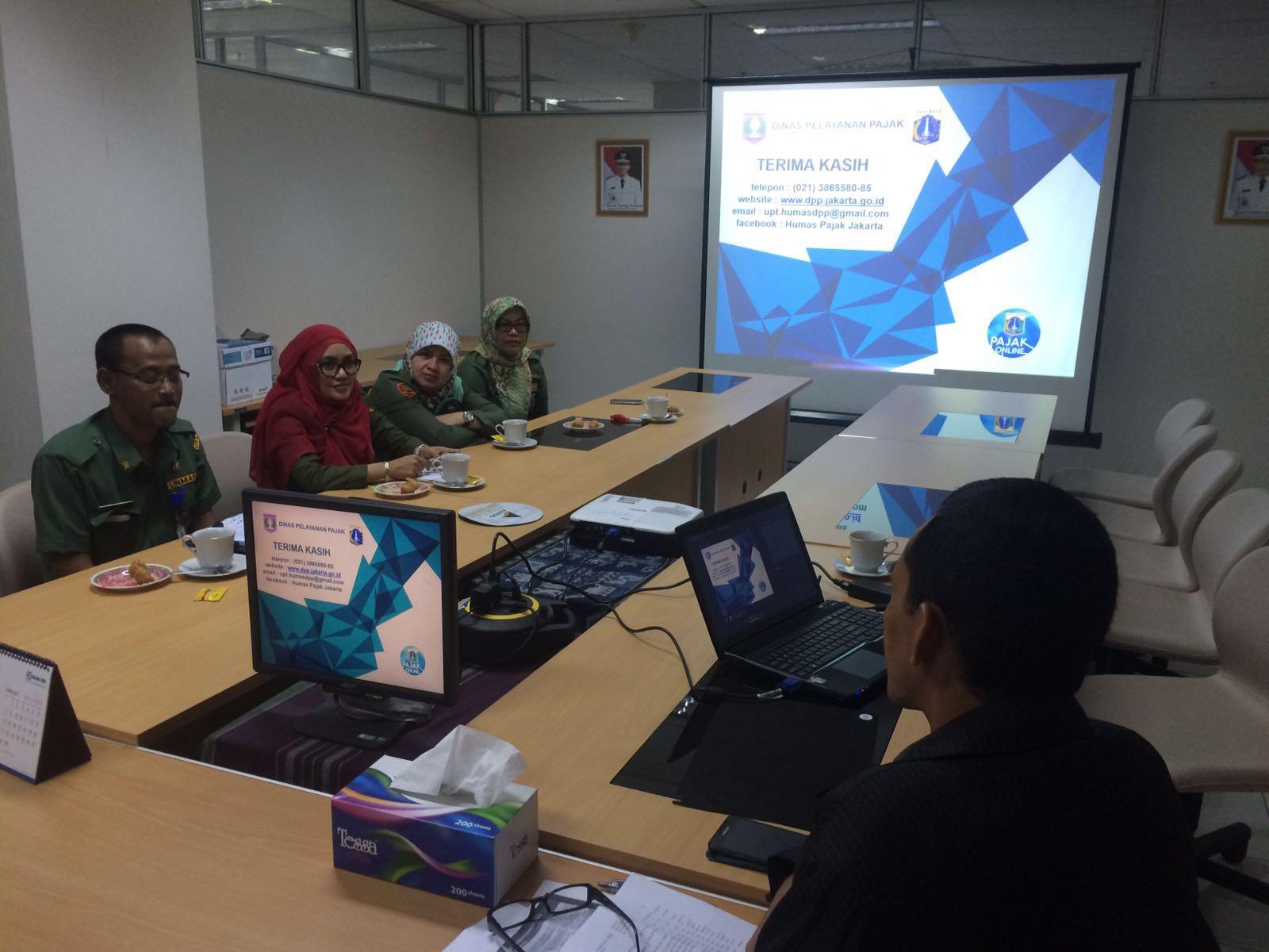 Kunjungan Dispenda Kabupaten Bogor