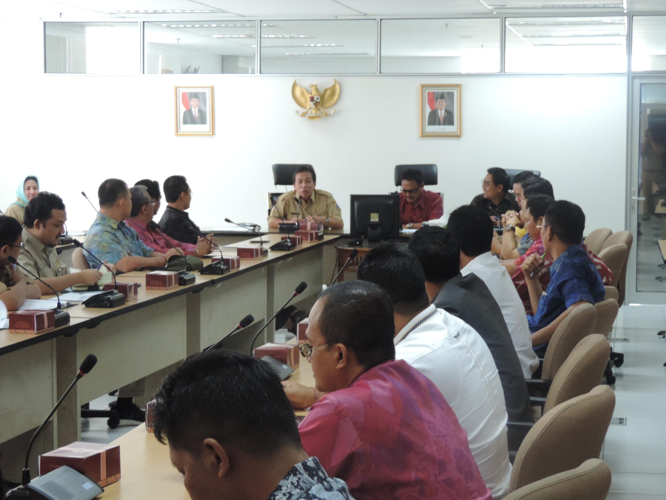 Kunjungan DPRD Kota Denpasar Bali