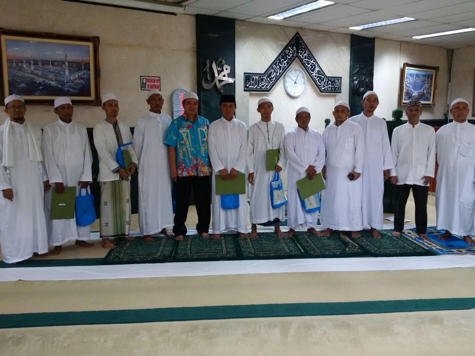Lomba Azan Masjid Al-Badar Dinas Teknis Abdul Muis