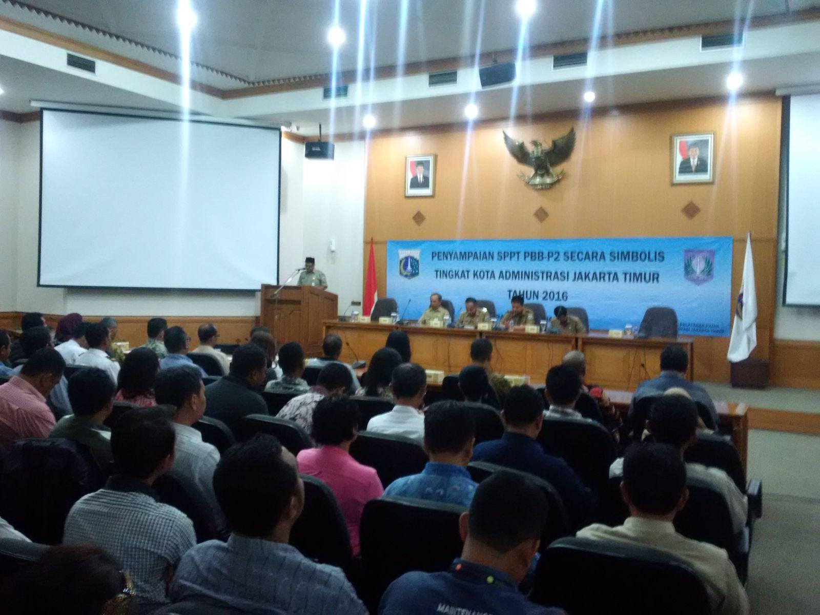 Penyampaian SPPT PBB di Jakarta Timur