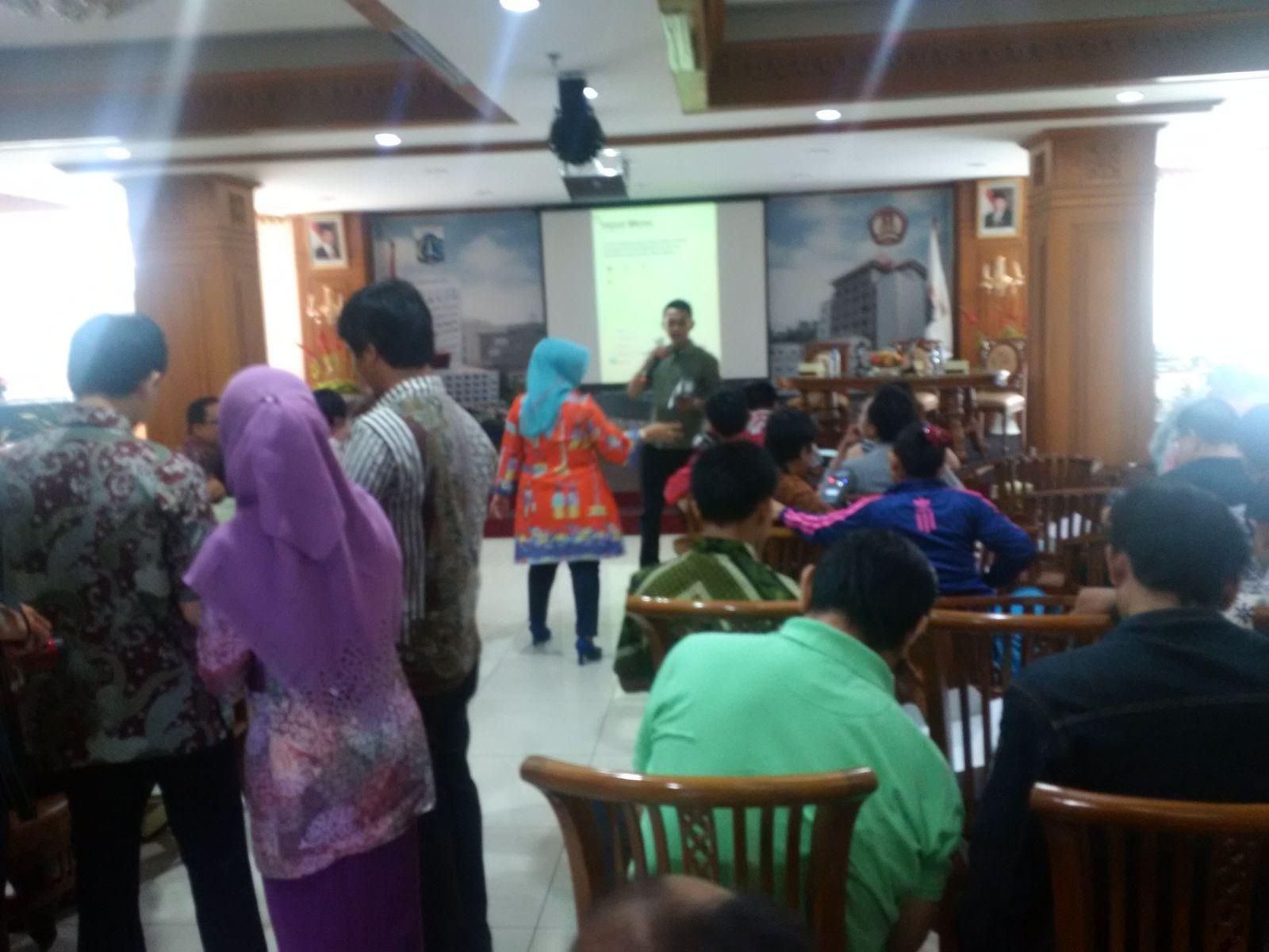 Sosialisasi e-POS di Jakarta Pusat