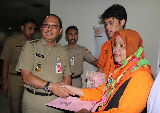 Penyampaian SPPT PBB di Jakarta Selatan
