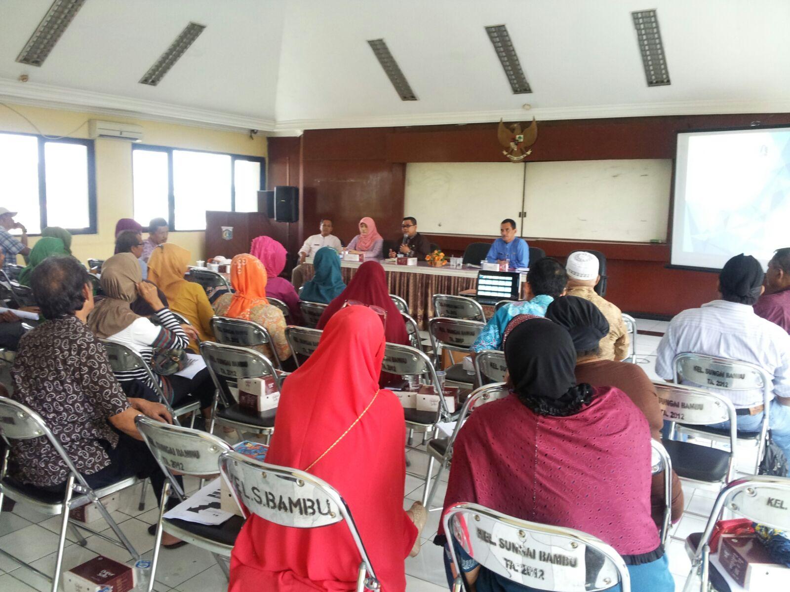 Sosialisasi Pajak Daerah di Kelurahan Sungai Bambu