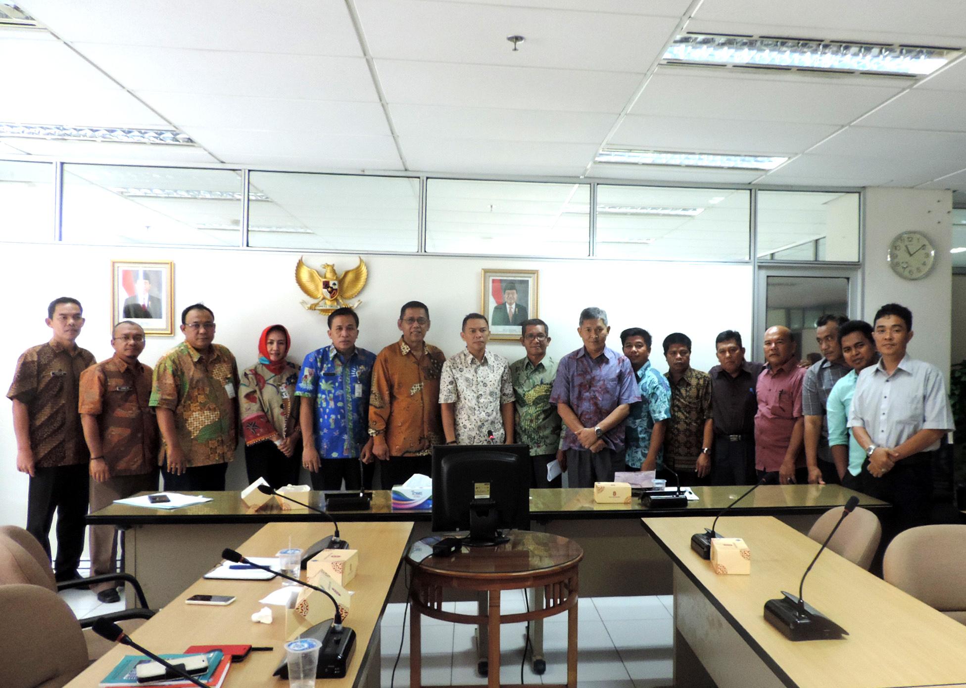 Kunjungan Study Banding DPRD Pangkal Pinang Bangka Belitung