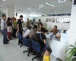 Kegiatan Pelayanan di UPPD Gambir