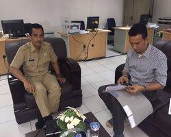 Kunjungan Bapak Muhammad Khadafi Gudban anggota DPRD Kota Kupang
