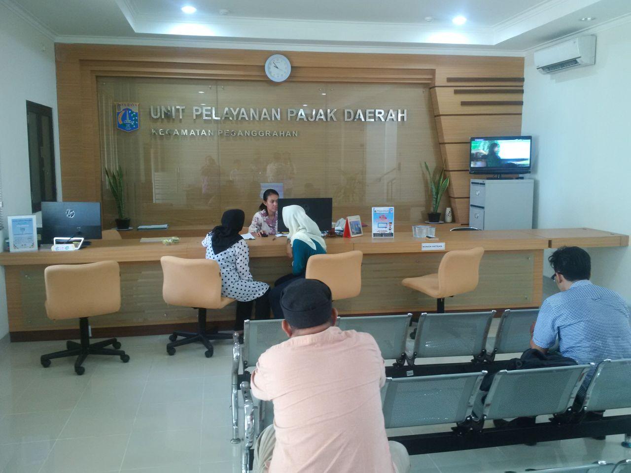 Ruang Pelayanan baru UPPD Pesanggrahan