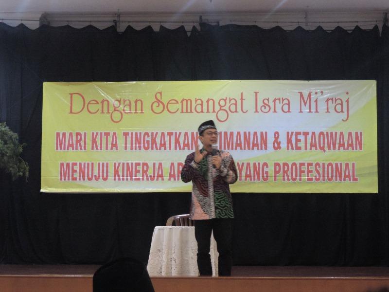 Ceramah Isra Miraj di DPP oleh Ustadz Wijayanto