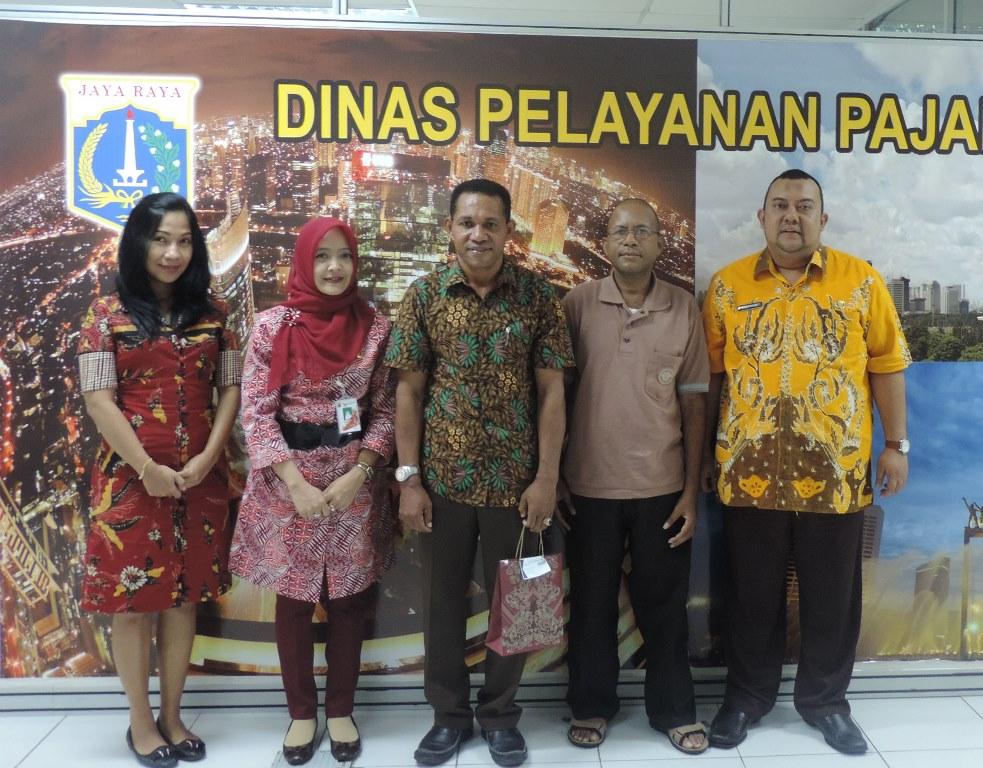 Samsat Papua diterima Humas DPP