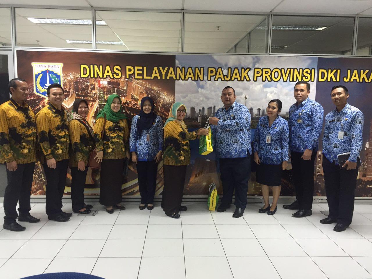 Kunjungan DPPKA Pagar Alam diterima DPP DKI
