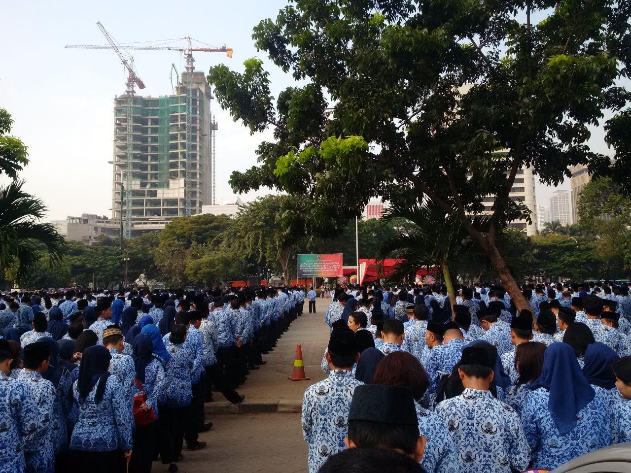 Upacara Hari Kebangkitan Nasional 2016 Pemprov DKI Jakarta