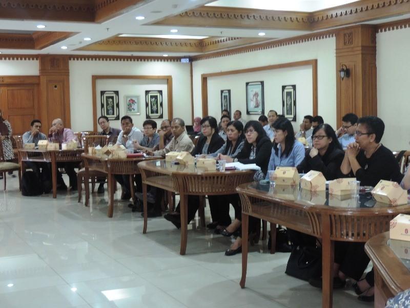 Para peserta pertemuan sosialisasi pajak hotel dari Accor Group Hotels