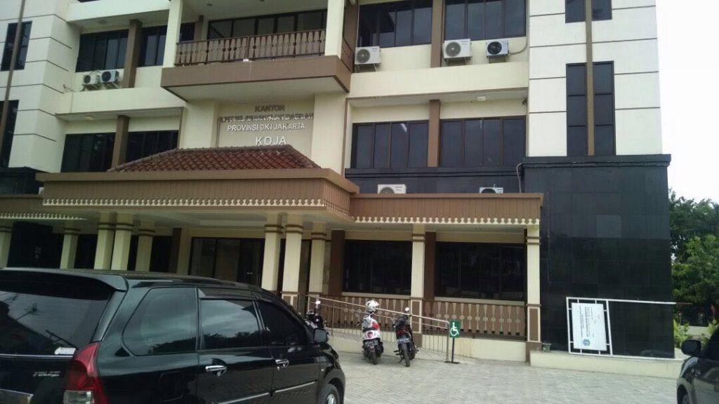 Kantor baru UPPD Koja