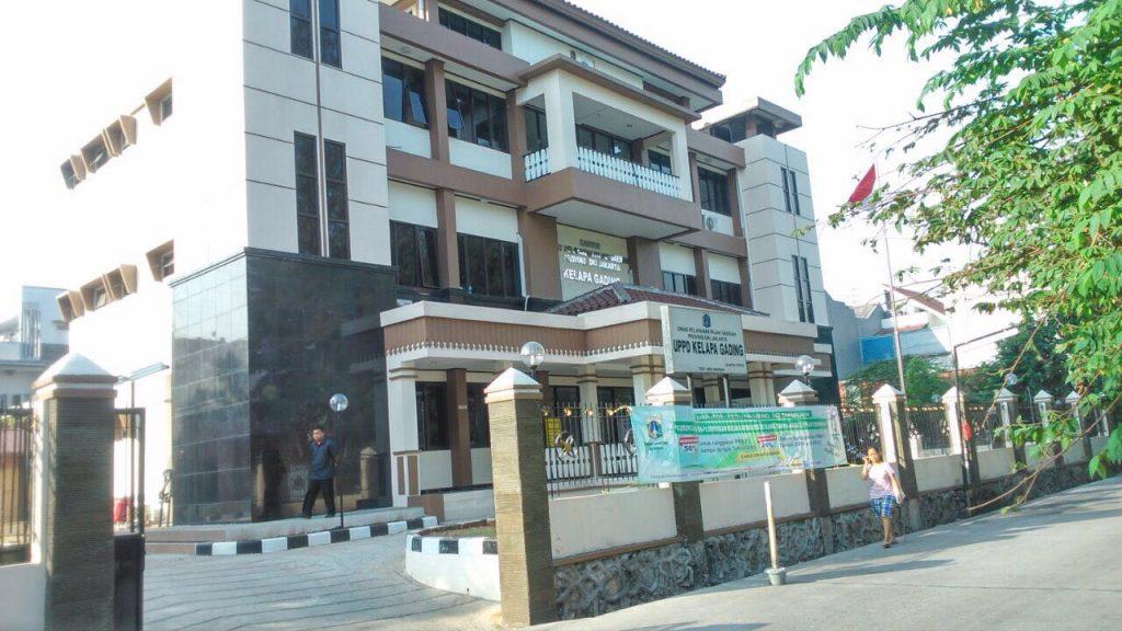 Pelayanan Gedung Baru UPPD Kelapa Gading