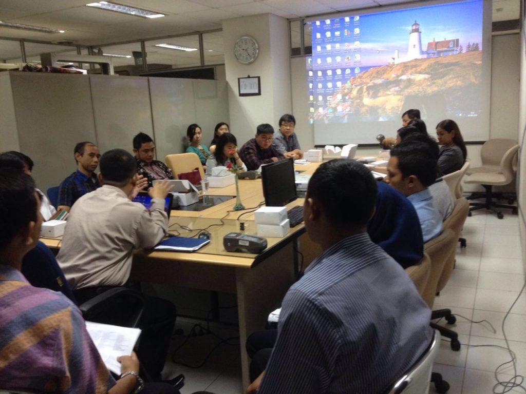 UPPD Gambir Lakukan Distribusi e-POS dan Pelatihan