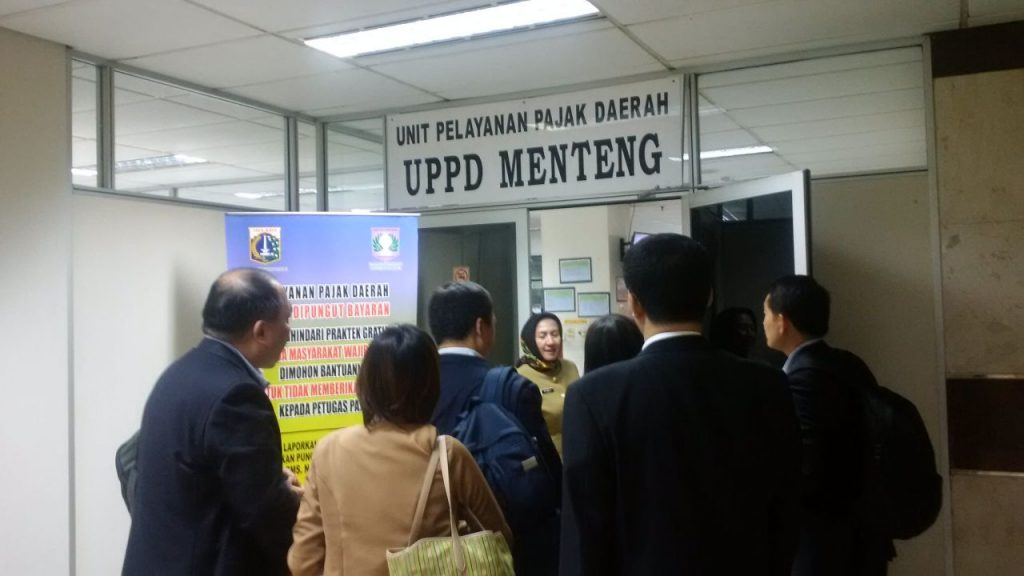 Kunjungan ke UPPD Menteng bersama Ibu Erma dan Ibu Paulina