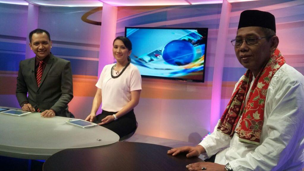 Kadis DPP menjadi narasumber di Berita Pagi Daai TV