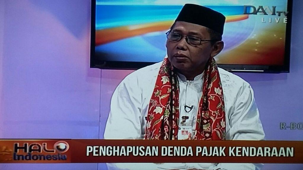 Kepala Dinas Pelayanan Pajak Provinsi DKI Jakarta jelaskan tentang program pembebasan sanksi PKB dan BBN-KB di Daai TV