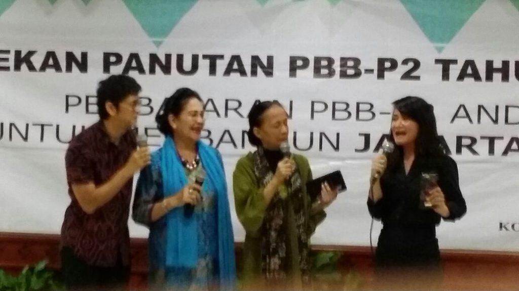 Testimoni Pekan Panutan PBB Jaksel dari tokoh masyarakat dr. Boyke, Rima Melati, Winda Widjanarko dan Indy Rahmawati (TV One)