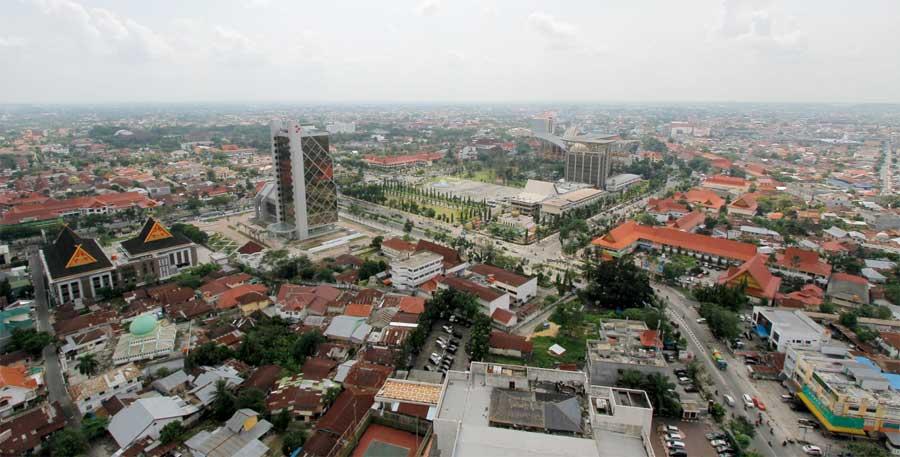 Panorama Kota Pekanbaru