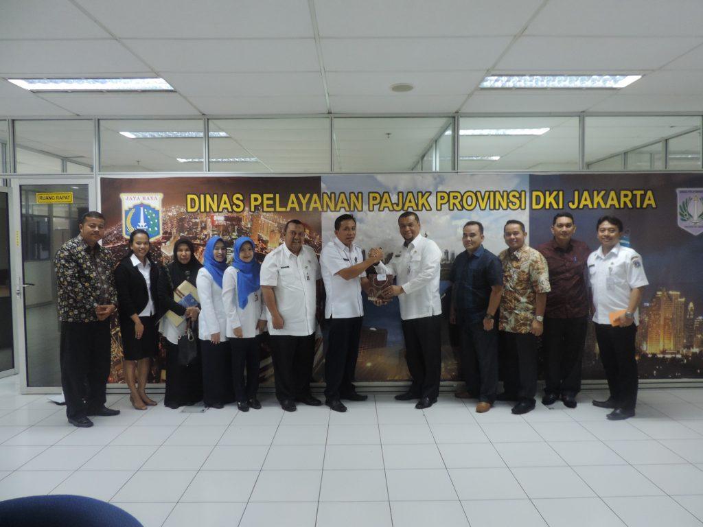 Rombongan Dispenda Kota Pekanbaru-Riau
