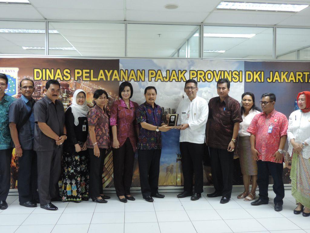 Tim Pembina Samsat Bali Lihat PKB Jakarta