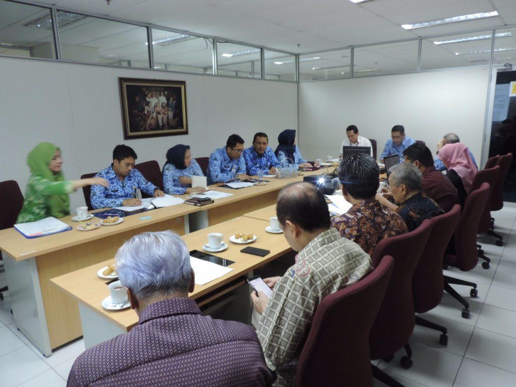 Audiensi AMLI-Kadin dengan DPP DKI