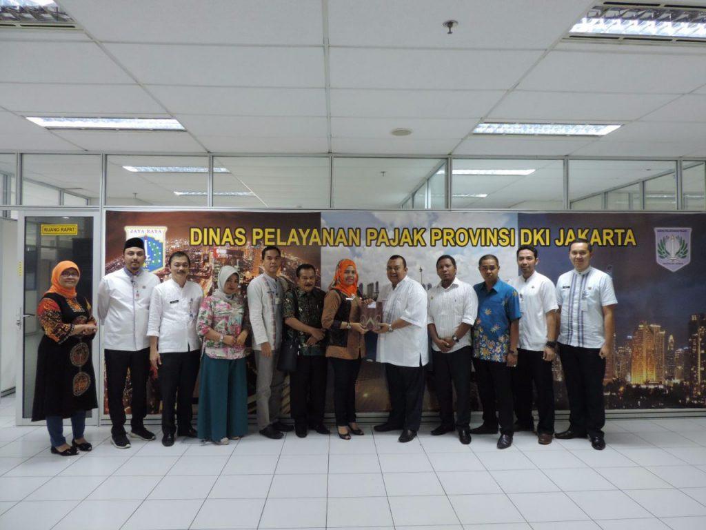 Rombongan Dispenda Pasaman Barat-Sumatera Barat diterima DPP DKI