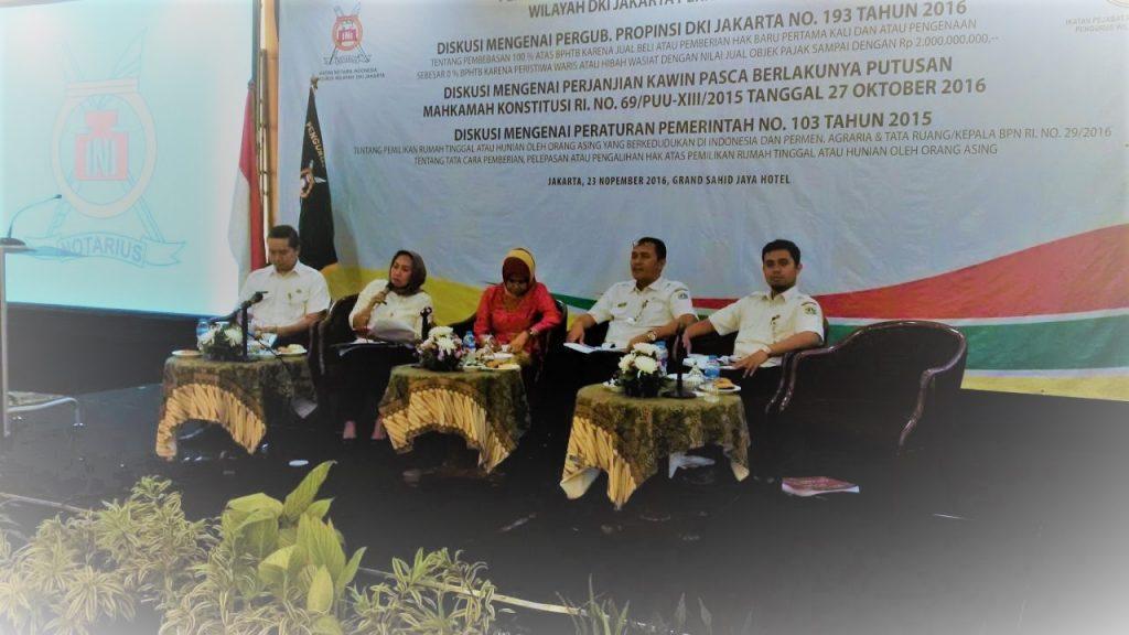 Diskusi Notaris Mengenai Pergub 193/2016