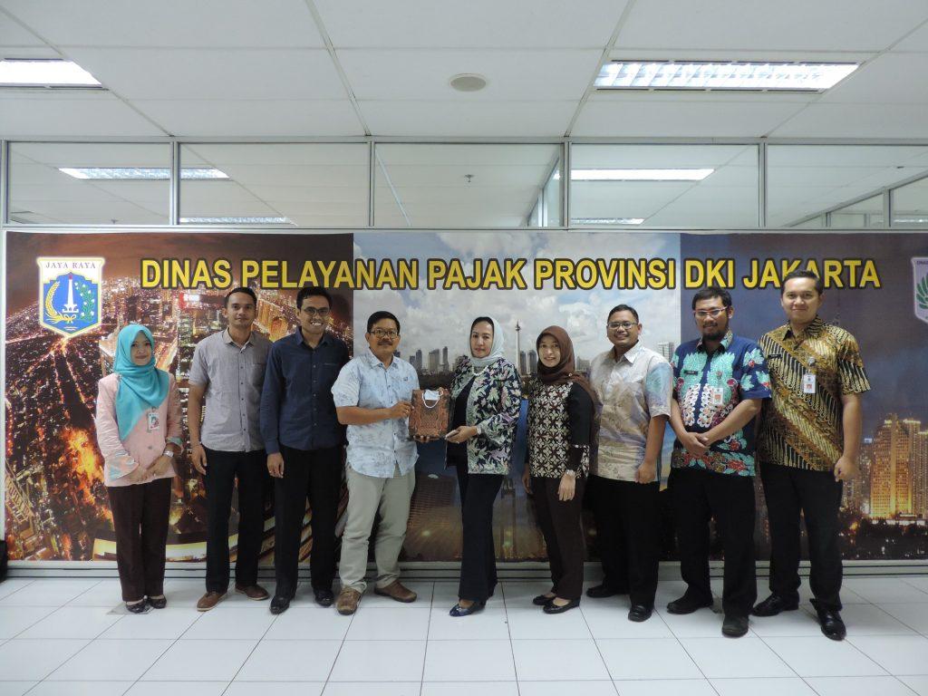 Kunjungan Dispenda Badung-Bali ke DPP DKI