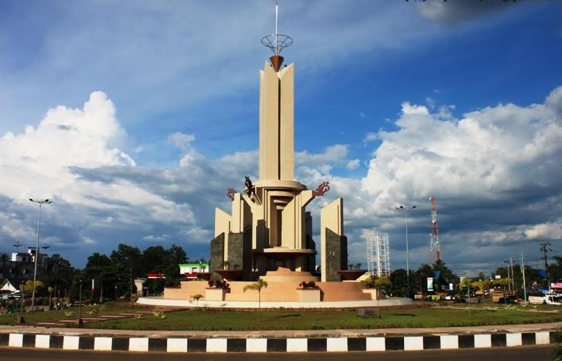 Tugu Kota Banjarbaru Kalimantan Selatan