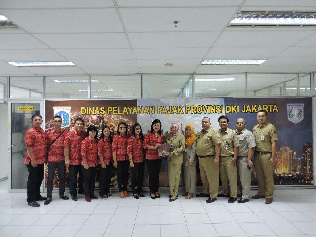 Kunjungan Dispenda Kota Bitung Sulawesi Utara
