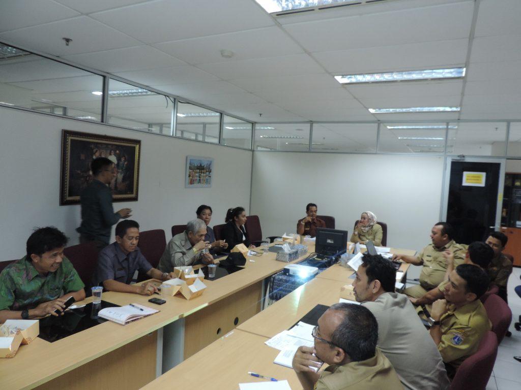 Paparan DPP didepan Pansus I Kota Palangkaraya