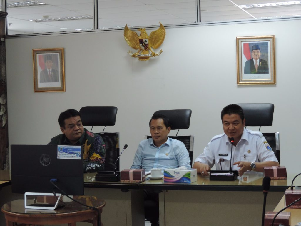 Rapat Kerja Dengan Komisi C DPRD Provinsi DKI Jakarta