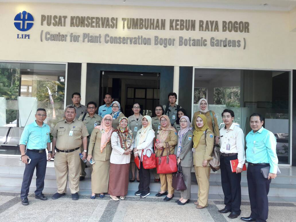 Kebun Raya Bogor Obyek Percontohan Bebas Korupsi