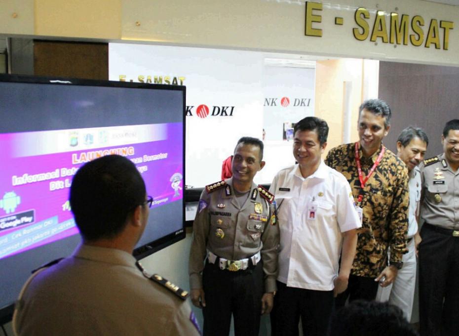 Launching Cek PKB Online