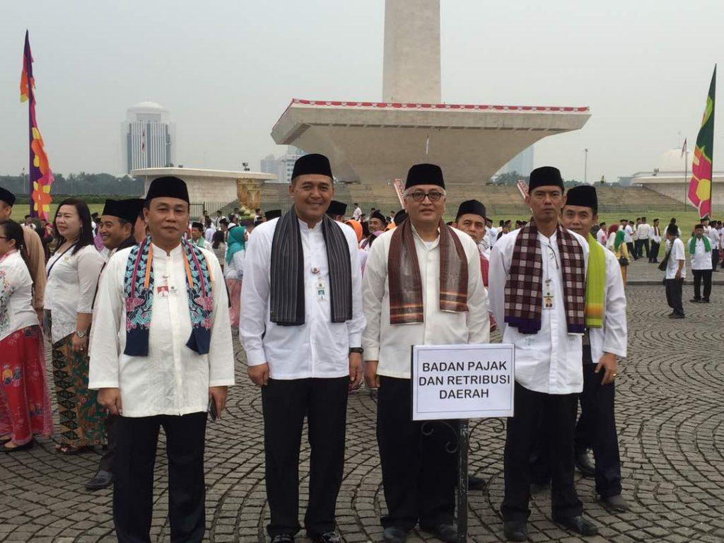 Peringatan HUT Kota Jakarta ke-490